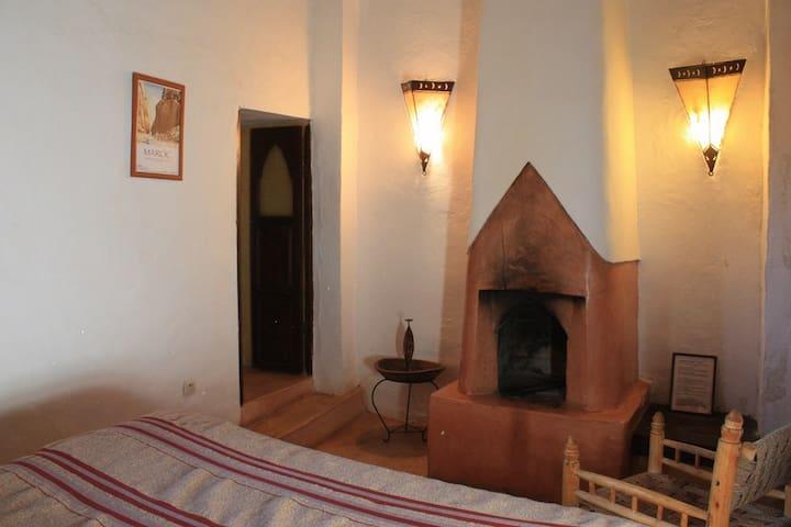 Chambre Safran - Chambre cascades d'ouzoud