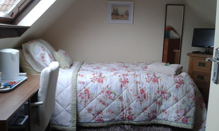 Loft room, warm and cosy