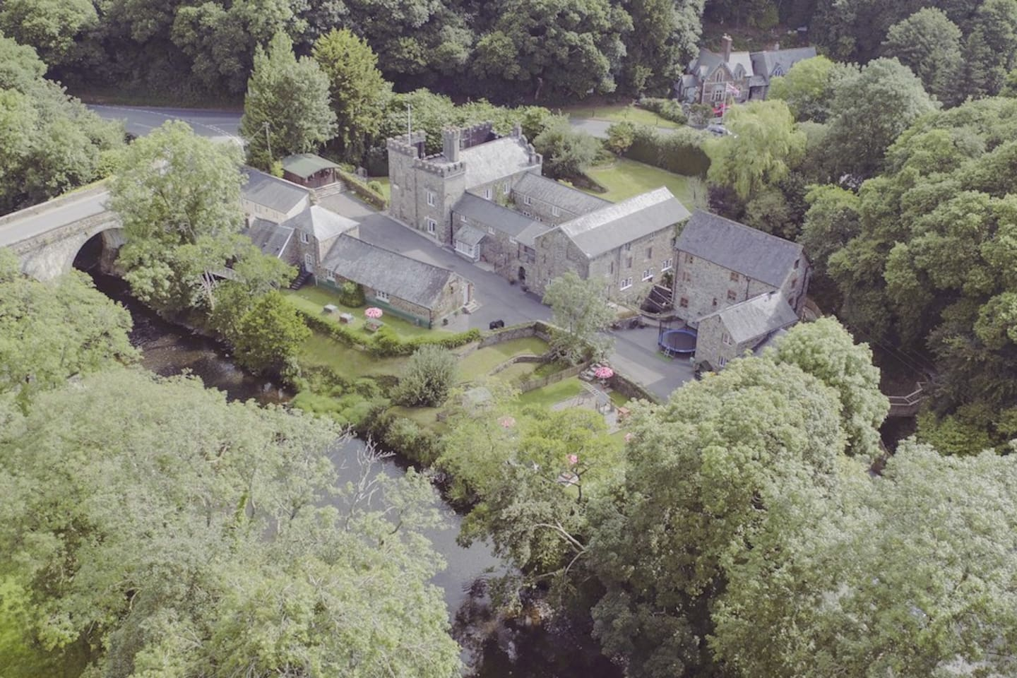 Aerial view of Orford Mill