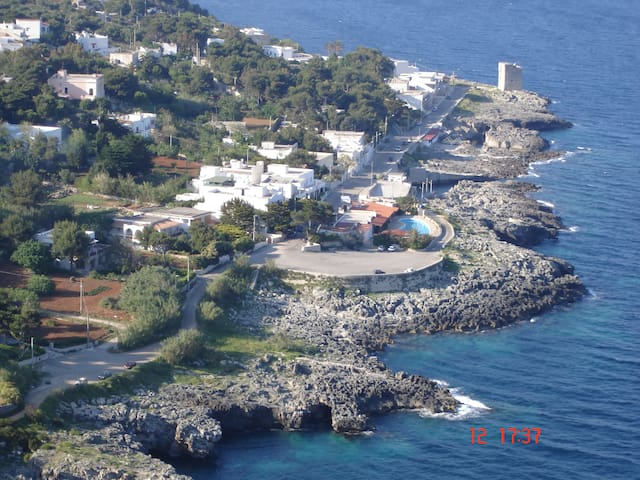 Casa fronte mare a Marina Serra
