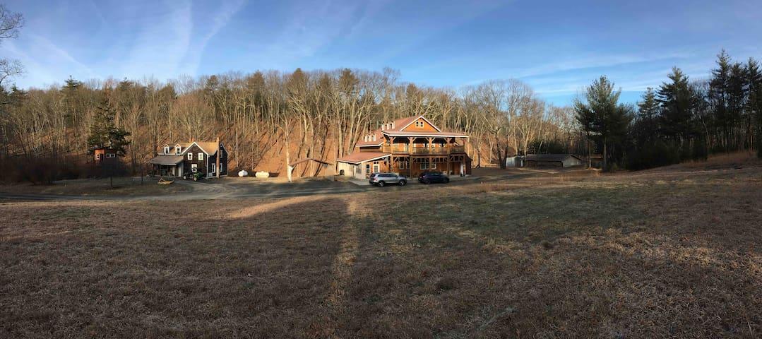 Holistic, organic retreat by Woodstock & Catskills