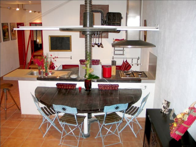 Grand appartement proche de Montpellier