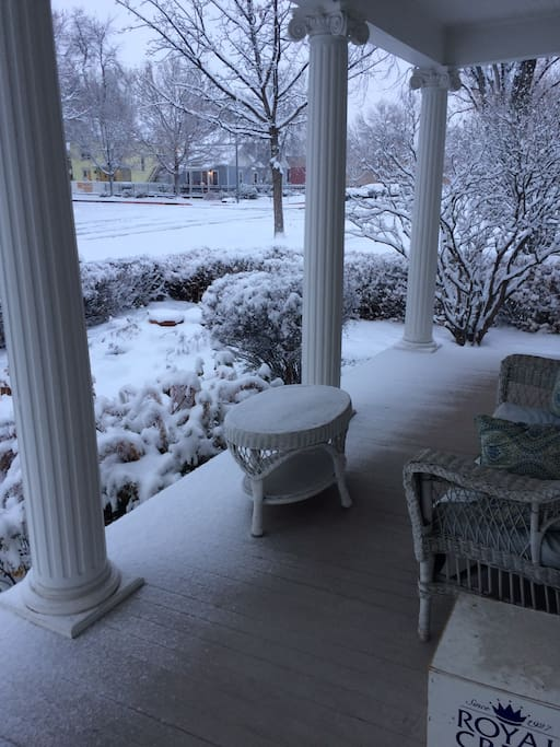 Front Porch Winter