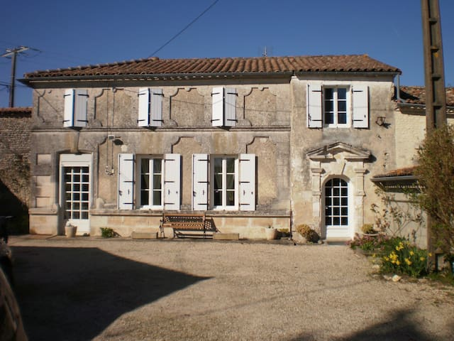 Maison de campagne - Saint-Ciers-Champagne - Casa