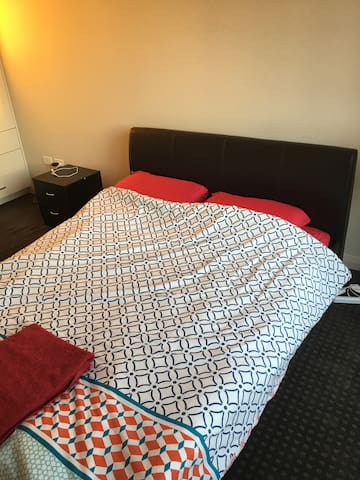 Bedroom with Private Balcony - North Parramatta