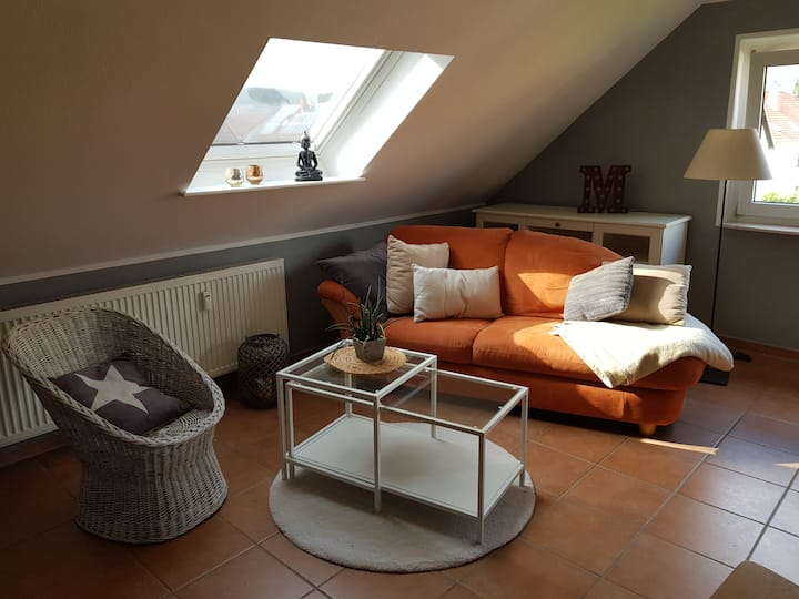 Home - Ferienwohnung im Dachgeschoss