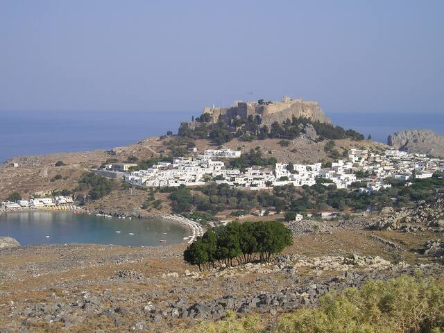 Beautiful villa in the centre of Lindos - Lindos - Casa
