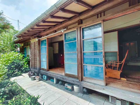 150-year-old private house, tatami room, relaxing on the edge, near Mount Da Nan, sea of Ashina