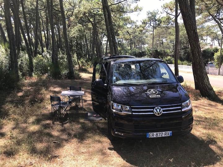 VW T6 Caravelle Bonfire Van - Provence