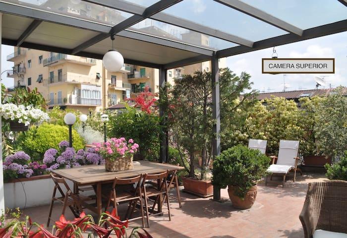 Casa Sole Verde -  Camera Superior - Naples - Bed & Breakfast