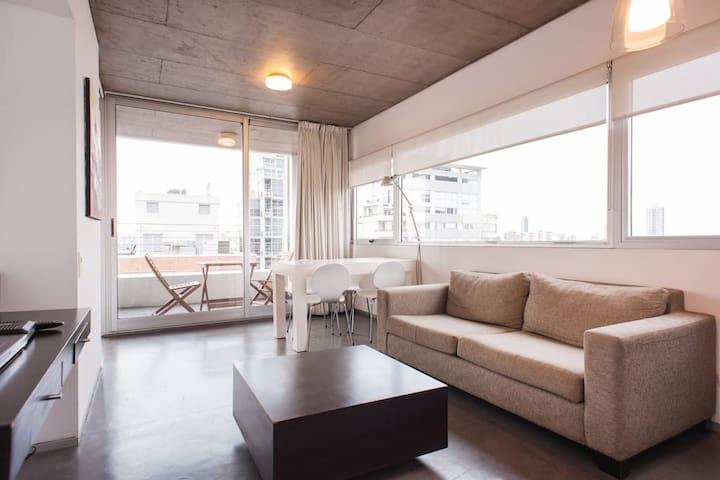 Great view + luxury apartment - Palermo Hollywood - Buenos Aires - Appartement
