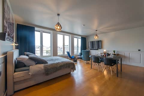 Cosy apartement hyper center Place-Saint-Lambert