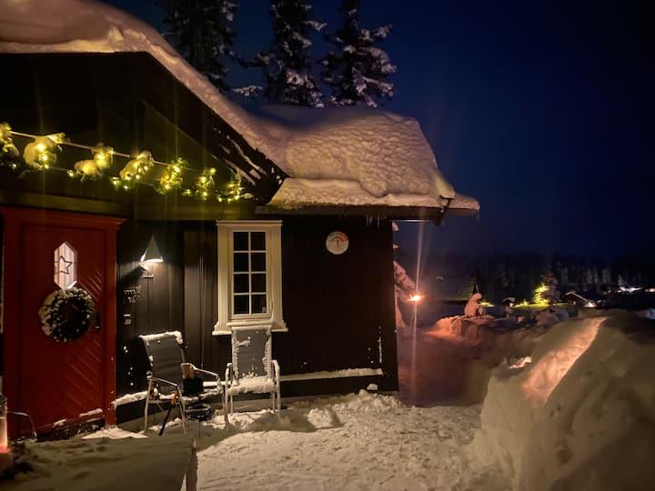Familievennlig hytte på vakre Norefjell