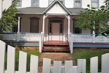 Front Entrance with Wraparound Porch