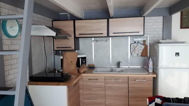 Confortable Studio pour 4 à l'Herbaudière