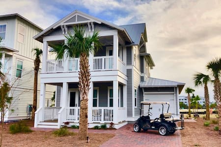 Stunning New Beach House (Watersound Beach on 30A)