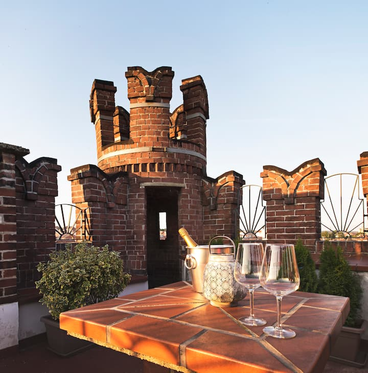 Castle Penthouse in the city center