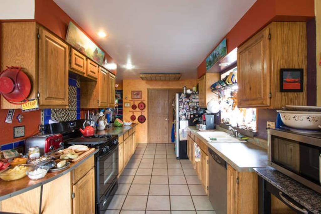 Our fully equipped kitchen.