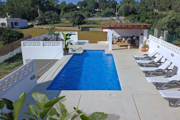 VILLA CAN TIXEDO Wifi, private swimmingpool
