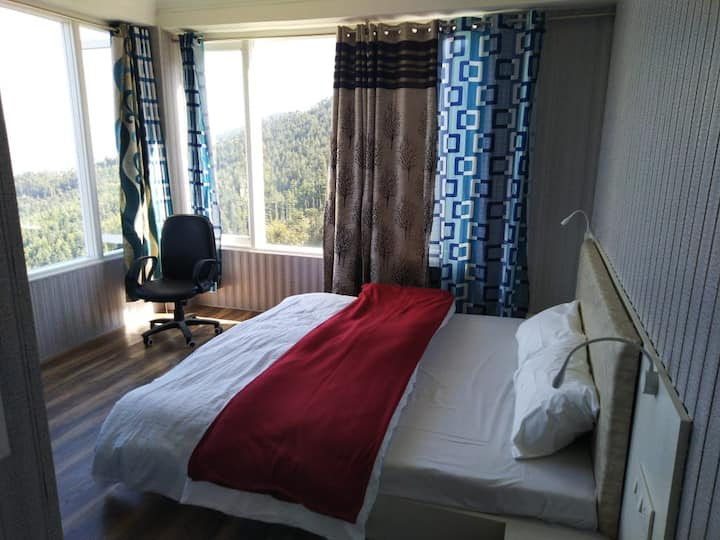 Scenic Bedroom 2 Mariner's Homestay Shimla