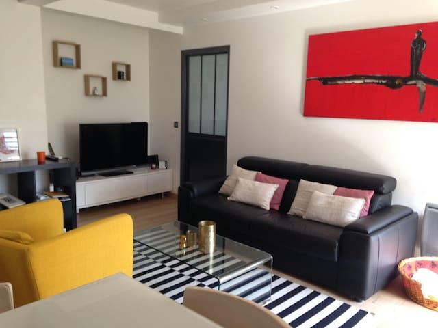 Beau F3 en Rdc - La Garenne-Colombes - Apartamento