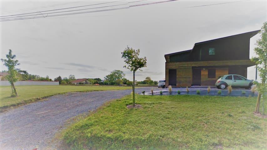 maison dans cadre naturel - Orx - Huis
