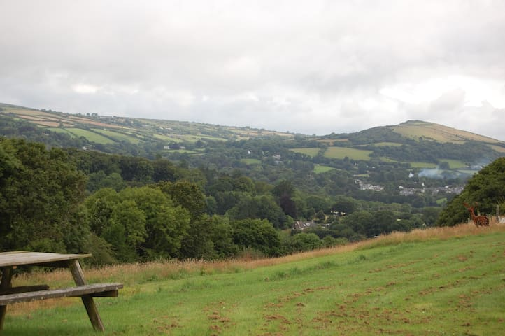 Stunning Dartmoor views in rural hilltop location - Devon - Hus