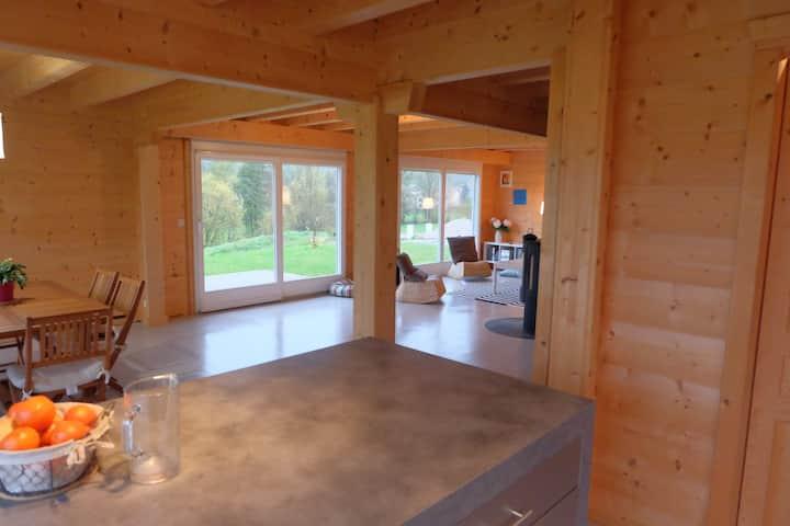 Notre maison nature en Franche Comté