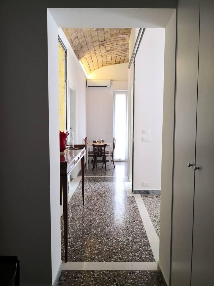 Maria's apartment, just renovated