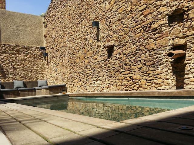 Riad en el corazón de Sant Feliu de Boada - Palau-Sator - Maison
