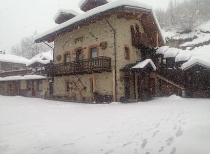 Charming and cozy winter lodge - Limone Piemonte - Daire