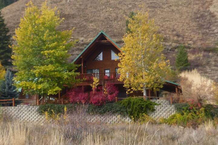 Hayhurst Cottage at Anderson Ranch Reservoir