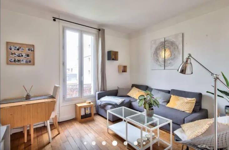 Appartement cosy limite Paris