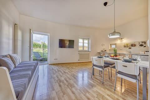 Appartamento centrale per coppie e famiglie