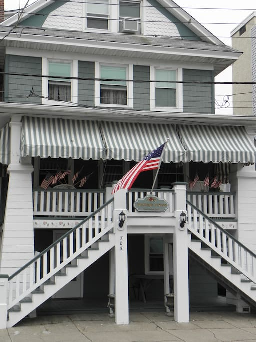 Classic Ocean City historical home, updated with all amenities for your comfort