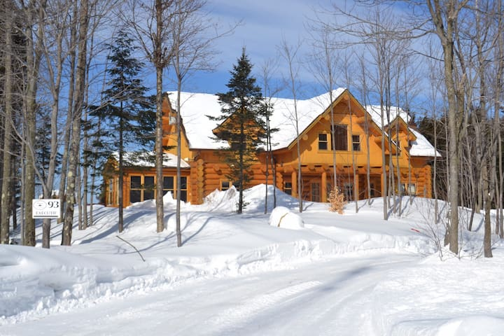 St- Sauveur/Morin Heights -  Log home luxury - Mille-Isles - Cabana