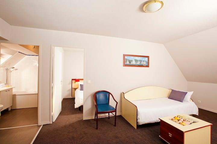 Appart 2 chambres duplex centre Lannion