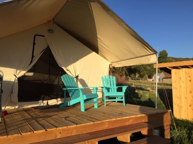 Private, On-Farm Glamping with Views of Mesa Verde
