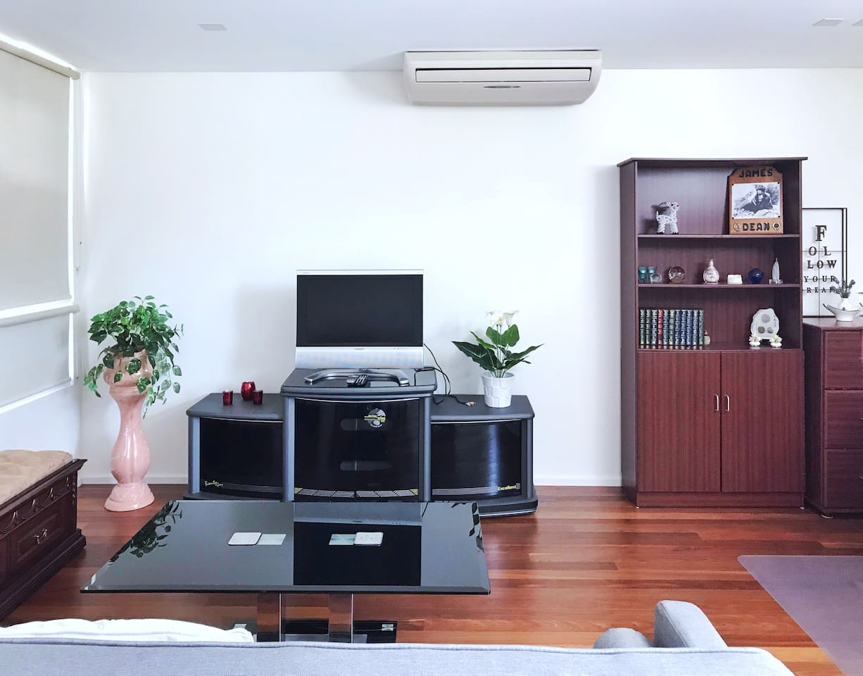 Extra large room in 40m2 size gives you (and your family members) comfortable space.