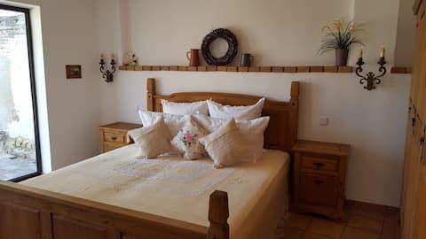 Romantisches Haus mit Sauna