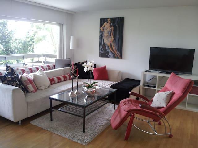 Gemütliches ruhiges Ferienhaus mit toller Aussicht - Fluh - House
