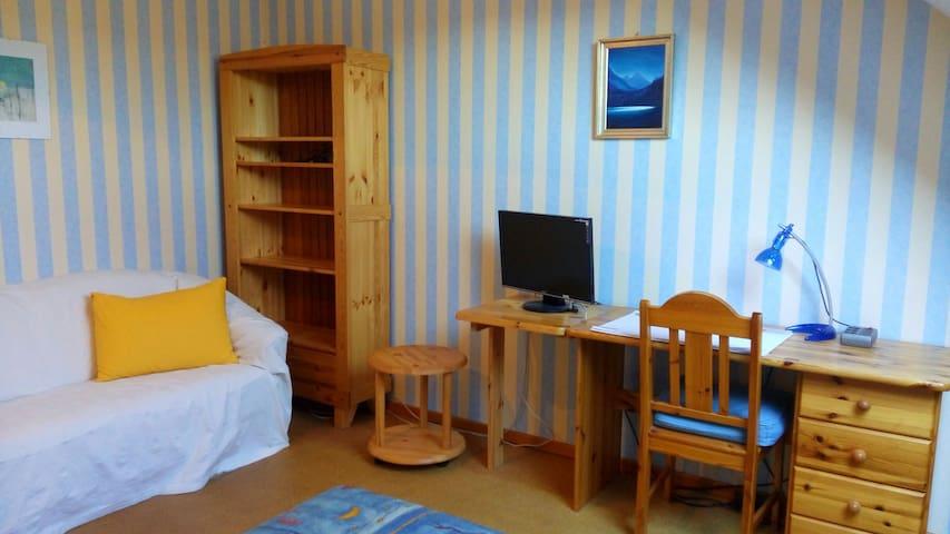 Nettes 16 qm Zimmer in Familienhaus - Achim - 단독주택