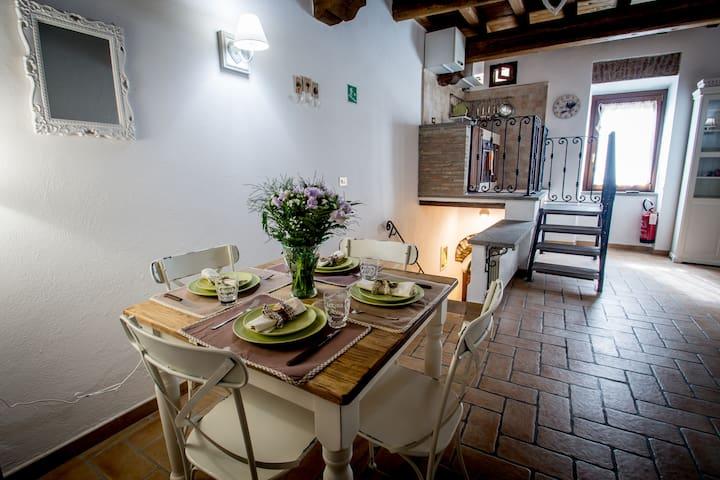 La Casina del castello - Bracciano - Apartamento