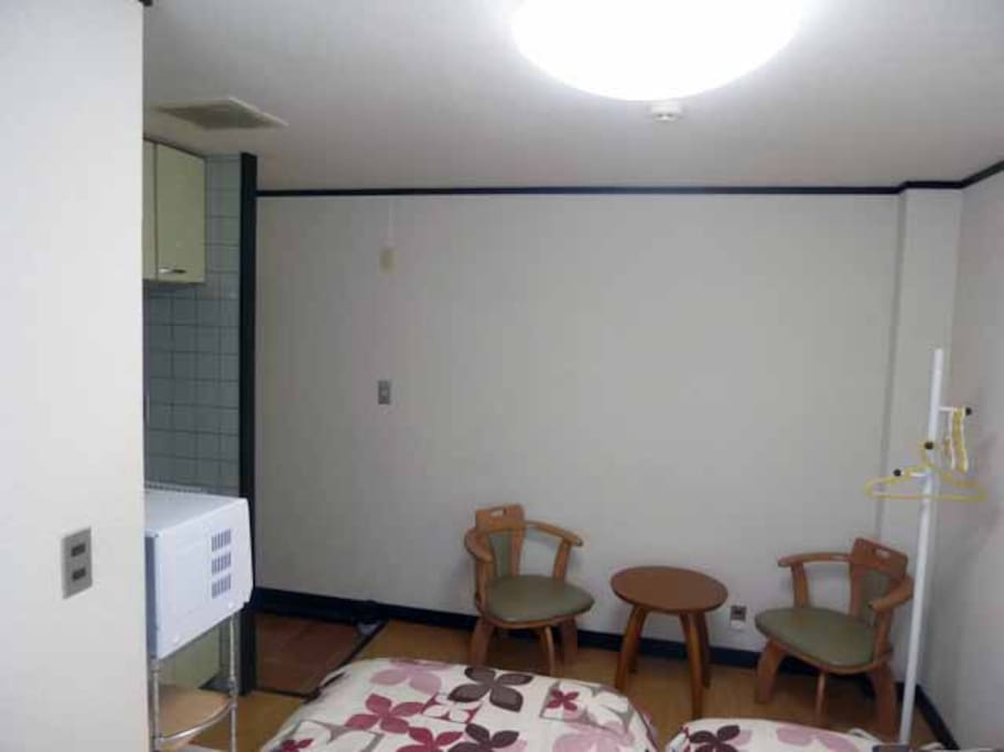 2名用のお部屋です。シングルbedが2台です。Single bed is two, two people of the room.