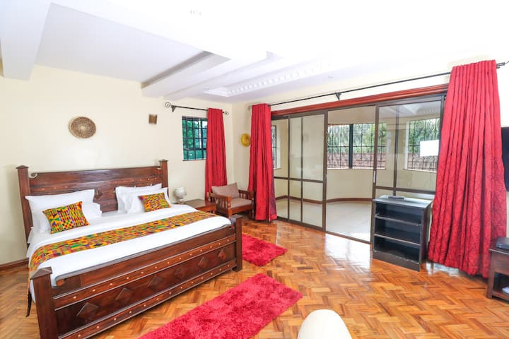 Runda Nairobi-5* Executive Room-spacious & private