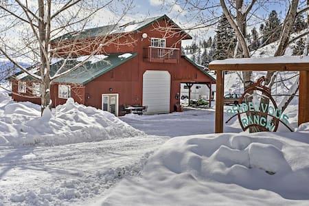 'Rendezvous' 1BR Cashmere Cabin on 80 Acres! - Cashmere - Kabin