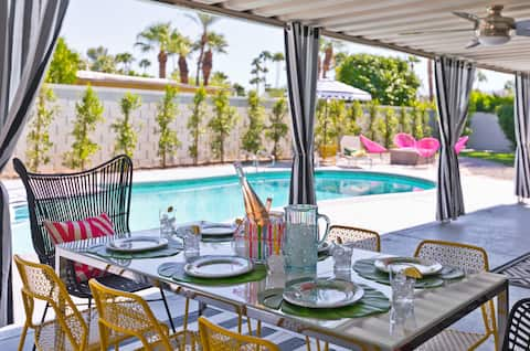 ★ The LePalm House ★ Upscale Glam Downtown Retreat