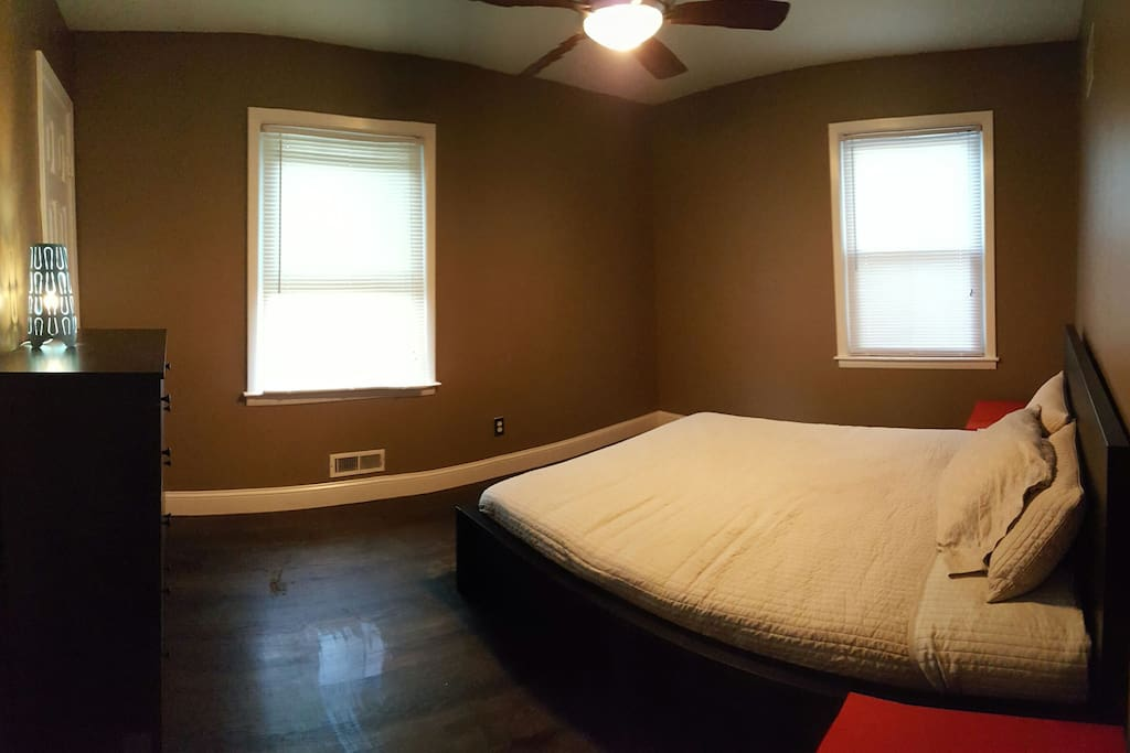 Master Bedroom with Half Bathroom
