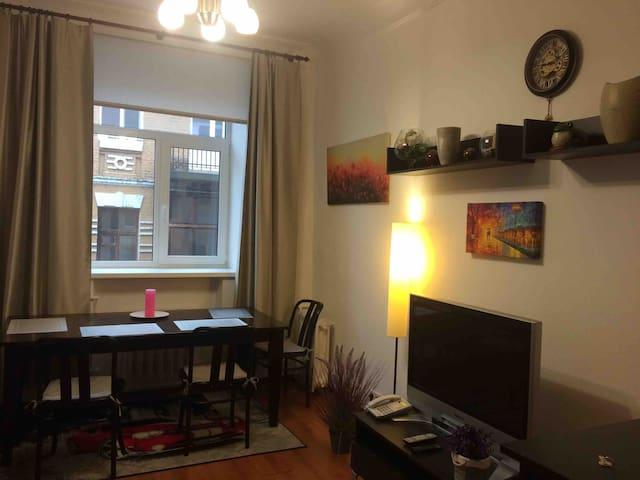 Cozy pretty apartment in the heart of Kiev.