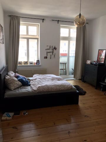 Modern room in the city center of Friedrichshain